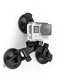 cheap -Suction Cup Damping Fastness Suction Cup Mounts For Action Camera Motorcycle Backcountry Motorsports ABS+PC