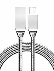 cheap -Metal Material USB Cable for iPhone / Type-C/Micro USB