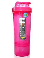 Недорогие -чашка чайник 400 ml PP для Отдых и Туризм Охота и рыболовство Походы / туризм / спелеология Розовый