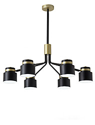 cheap -6-Light Nordic modern light new simple atmospheric household dining room light creative Nordic bedroom living room Mini Chandelier