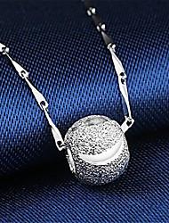 cheap -Women's Pendant Necklace Charm Necklace Classic Precious Unique Design Fashion Copper Silver Plated Rose Gold Plated Rose Gold Silver 45 cm Necklace Jewelry 1pc For Daily Street Work