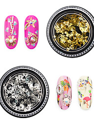 cheap -1 pcs Universal / Creative Metal Alloy Nail Jewelry For Finger Nail Snowflake nail art Manicure Pedicure Daily Artistic / Fashion