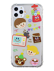 cheap -Case for Apple scene map iPhone 11 X XS XR XS Max 8 Cartoon pattern high transparent thickened TPU material four corners all-inclusive mobile phone case