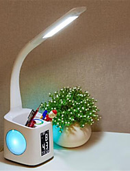 cheap -LED Desk Lamp Foldable Touch Dimmer Table Lamps USB Charging Eye Protection Reading Light with Pen Pencile Cup
