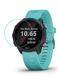 cheap -Smart Watch Screen Protector for Forerunner 245 / 245 Music Garmin Tempered Glass High Definition (HD)  Anti Scratch Bubble Free Clear Film 1 pc