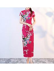 cheap -Women's Bodycon Dress - Geometric Black Maxi White Purple S M L XL
