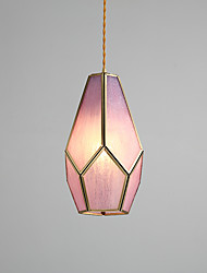 cheap -1-Light 16 cm Mini Style Pendant Light Copper Mini Electroplated Artistic / Chic & Modern 110-120V / 220-240V
