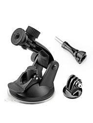 cheap -Suction Cup Removable Suction Cup Mounts Easy to Install For Action Camera Multisport Motorcycle Security ABS Resin