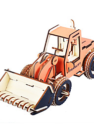 cheap -3D Puzzle Jigsaw Puzzle Wooden Model Car DIY Simulation Wooden Classic Construction Truck Set Kid's Adults' Unisex Boys' Girls' Toy Gift