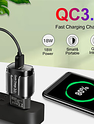cheap -18W Quick Charge 3.0 USB Charger QC 3.0 4.0 For Samsung A50 iPhone Xr 11 8 7 Xiaomi Huawei USB Plug Phone/Fast Charger Adapter