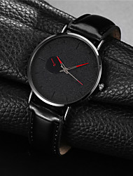 cheap -Men's Dress Watch Quartz Formal Style Modern Style Black / Silver 30 m Shock Resistant Casual Watch Large Dial Analog - Digital Classic Fashion - Rose Gold Burgundy Blue Two Years Battery Life