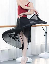 cheap -Ballet Skirts Split Joint Women's Training Performance Modal