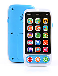 cheap -HS-686-9 Toy Phone Educational Toy Learning Pad Y-phone Touch Screen Rechargeable Cool Simulation Parent-Child Interaction Music & Light with Screen Kid's Child's All 1 pcs Toy Gift