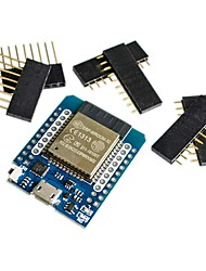 Недорогие -d1 mini esp32 esp-32 wifibluetooth интернет вещей на плате разработки esp8266 полностью функциональный