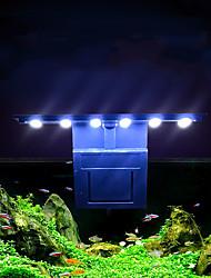 Недорогие -Аквариум Свет Подсветка 1шт Свет аквариума Белый Стерилизатор Офис Украшение ABS 5 W 220-240 V