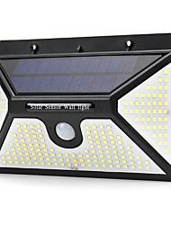 cheap -BRELONG Solar Body Sensor Wall Light Outdoor IP65 Waterproof Courtyard Garden Light
