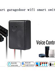 cheap -WIFI Smart Garage Door Switch/Wireless Remote Control/Graffiti Smart Garage Door Timing/ intelligent Wireless 100-240 V/SGDS-01CKM