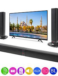 Недорогие -bs-36 домашний кинотеатр многофункциональный динамик bluetooth soundbars с 4 рогами / 3d стерео поддержка звука складной / сплит для ТВ / ПК