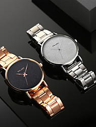 cheap -Men's Dress Watch Quartz Formal Style Modern Style Stainless Steel Black / Silver 30 m Shock Resistant Casual Watch Large Dial Analog - Digital Classic Fashion - Rose Gold White / Brown Silver Two