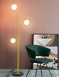 cheap -Floor Lamp New Design Artistic / Modern Contemporary For Bedroom / Study Room / Office Metal 110-120V / 220-240V Gold / Black