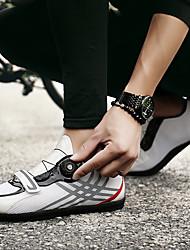 cheap -Adults' Bike Shoes Breathable Anti-Slip Mountain Bike MTB Road Cycling Cycling / Bike Black / Red White Green Men's Women's Cycling Shoes
