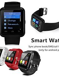 Недорогие -Смарт Часы Цифровой силиконовый Bluetooth Smart Календарь Цифровой Роскошь Мода - Черный Белый Красный