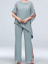 cheap -Short Sleeve Basic Chiffon / Polyester Wedding Women's Wrap With Ruching