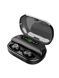 cheap -V12 Touch Tws Waterproof Wireless Bluetooth Earphone Gaming Headset LED-Display Mini Sport Bluetooth Earphone Stereo For Iphone