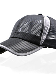 cheap -Sun Hat Hiking Hat Ball Cap Hat Sunscreen Breathable Protective Nylon Cotton Spring Summer Fall for Men's Women's Unisex Baseball Outdoor White Black Pink