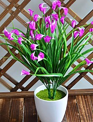 cheap -Artificial Flower Calla Lily Interior Decoration Flower Photography 1 Stick