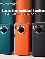 cheap -Huawei Mate 30 Pro Mobile Phone CaseHuawei Mate30 Ultra-thin Protective Orange Hard Shockproof Business Curved Phone Case
