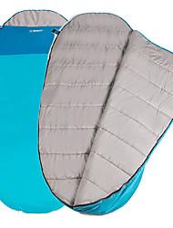 Недорогие -Спальный мешок на открытом воздухе Походы Oval Shape 5-10 °C T / C хлопок Сохраняет тепло Компактность Легкость С защитой от ветра Дышащий Дожденепроницаемый Дружественная кожа 230*100 cm Осень Зима