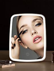 cheap -BRELONG Makeup Mirror Desktop LED Portable Portable Dimmable Fill Light Desktop Makeup Mirror