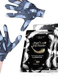 cheap -6 Pairs Exfoliating Hand Mask Volcanic Mud Hands Whitening Moisturizing Nourish Hand Care