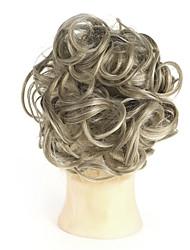 cheap -chignons Saniya Curl / Halloween Hair Bun Simple / Fashionable Design / Synthetic Synthetic Hair Hair Piece Hair Extension Saniya Curl / Halloween Blonde