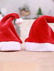 cheap -Adult Red The Ordinary Christmas Hats Santa Hats Christmas Hats Children Cap