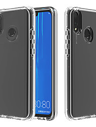 cheap -Case For Huawei Huawei P Smart 2019 / Huawei Honor 8A / Huawei Y6 (2019) Transparent Back Cover Transparent PC