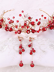 cheap -Alloy Hair Accessory with Rhinestone / Glitter 3 Pieces Wedding Headpiece