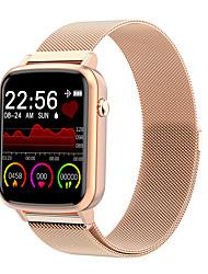 Недорогие -Жен. электронные часы Роскошь Мода Черный Синий Серебристый металл сплав силиконовый Цифровой Черный Розовый Золотой Защита от влаги Bluetooth Smart 30 m 1 ед. Цифровой