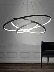cheap -Lightinthebox 3-Light Circle Pendant Light Ambient Light Painted Finishes Metal Acrylic LED 110-120V / 220-240V Warm White / White / Dimmable With Remote Control