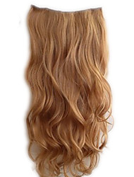 cheap -Synthetic Wig Curly Asymmetrical Wig Long Light Brown Black / Pink Synthetic Hair 17 inch Women's Black