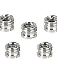 Недорогие -Camvate 1 / 4-20 гнездо для 3/8-16 штекер микро-винтовой адаптер (5 шт.) c2190
