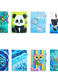 cheap -Phone Case For Samsung Tablets Full Body Case Samsung Tab A 10.1(2019)T510 Samsung Tab A 8.0(2019)T290/295 Samsung Tab S6 T860/865 Card Holder Shockproof Cartoon TPU