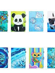 cheap -Case For Apple iPad Air / iPad Mini 3/2/1 / iPad Mini 4 Card Holder / Shockproof Full Body Cases Cartoon TPU