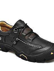 cheap -Men's Comfort Shoes PU Fall & Winter Athletic Shoes Hiking Shoes Black / Brown