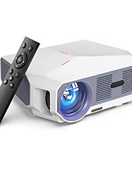 cheap -Projector transjee Movie Projector 3800LM with 200 Display 40001 Contrast HD Video Projector 1080P Supported Hi-Fi Speakers Compatible with TV Stick Games HDMI USB VGA AV 3.5Audio
