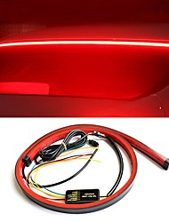 cheap -Car Lights Super Bright Red Flowing Flashing additional Car Third Brake Light Tail High Mount Stop Lamp Car Turn Signal Strip Staycation