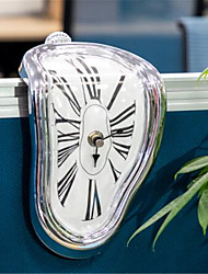 cheap -Novel Surreal Melting Distorted Wall Clocks Surrealist Salvador Dali Style Wall Watch Decoration Gift BestSelling