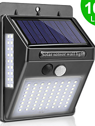 cheap -WAZA 100 LED SOLAR LIGHT OUTDOOR SOLAR LAMP PIR MOTION SENSOR WALL LIGHT WATERPROOF SOLAR POWERED SUNLIGHT FOR GARDEN DECORATION