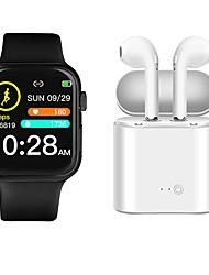 Недорогие -P35 SmartWatch BT фитнес-трекер с поддержкой беспроводных наушников измерения частоты сердечных сокращений / артериального давления для телефонов Apple / Samsung телефонов Android